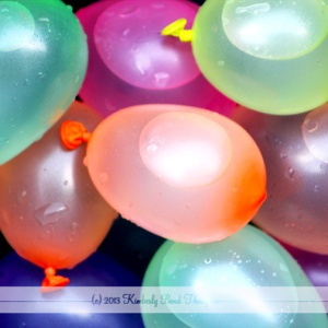 water balloons summer