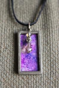 Win this purple pendant