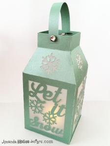 silouette cuttable lantern