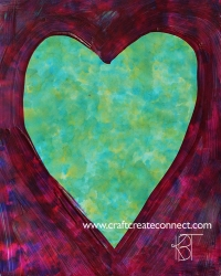 heart color play