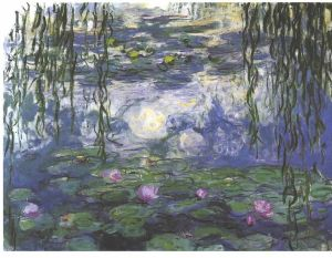 Monet Water lily
