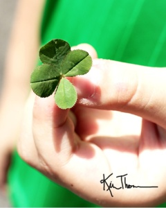 four leaf clover St. Patricks day
