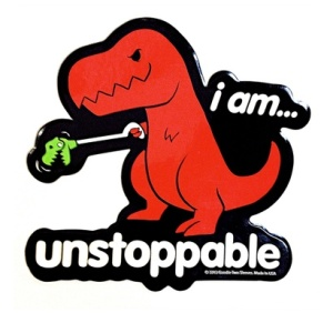 am-unstoppable-dino-sticker-