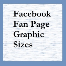 Fanpage Graphic Sizes