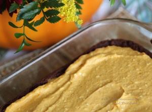 gluten free spiced pumpkin cheesecake