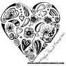 teeming hearts doodle flavicon
